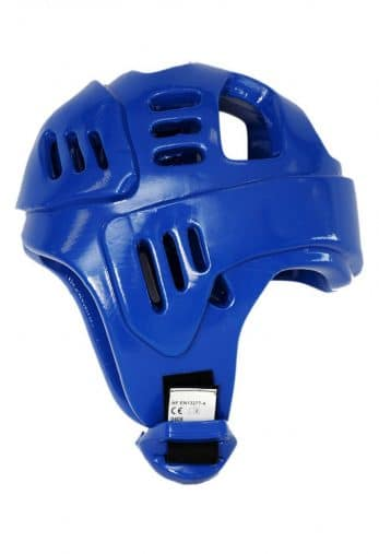 casque-karate-budo-fight-bleu-homologue-ffkarate-profil