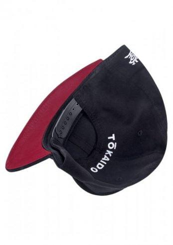 casquette-snapback-tokaido-noir-rouge