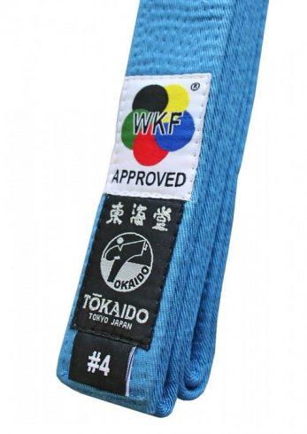 ceinture-bleue-karate-wkf-tokaido-gtbl-etiquette
