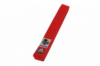 ceinture-de-karate-adidas-elite-b242k-wkf-rouge