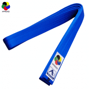 ceinture-de-karate-competition-arawaza-deluxe-satin-wkf-bleue
