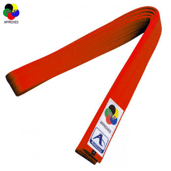 ceinture-de-karate-competition-arawaza-deluxe-satin-wkf-rouge