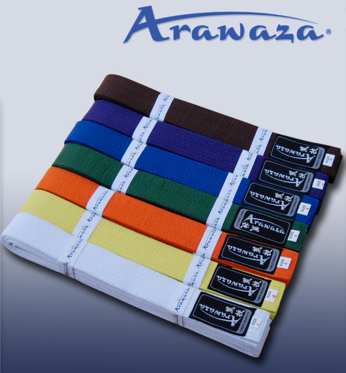 Ceinture de Karate de Couleur ARAWAZA Coton piqué   En vente sur ... d19047b3ca3
