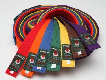 ceinture-karate-couleurs-uni-kamikaze