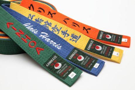 ceinture-karate-couleurs-uni-kamikaze-broderie