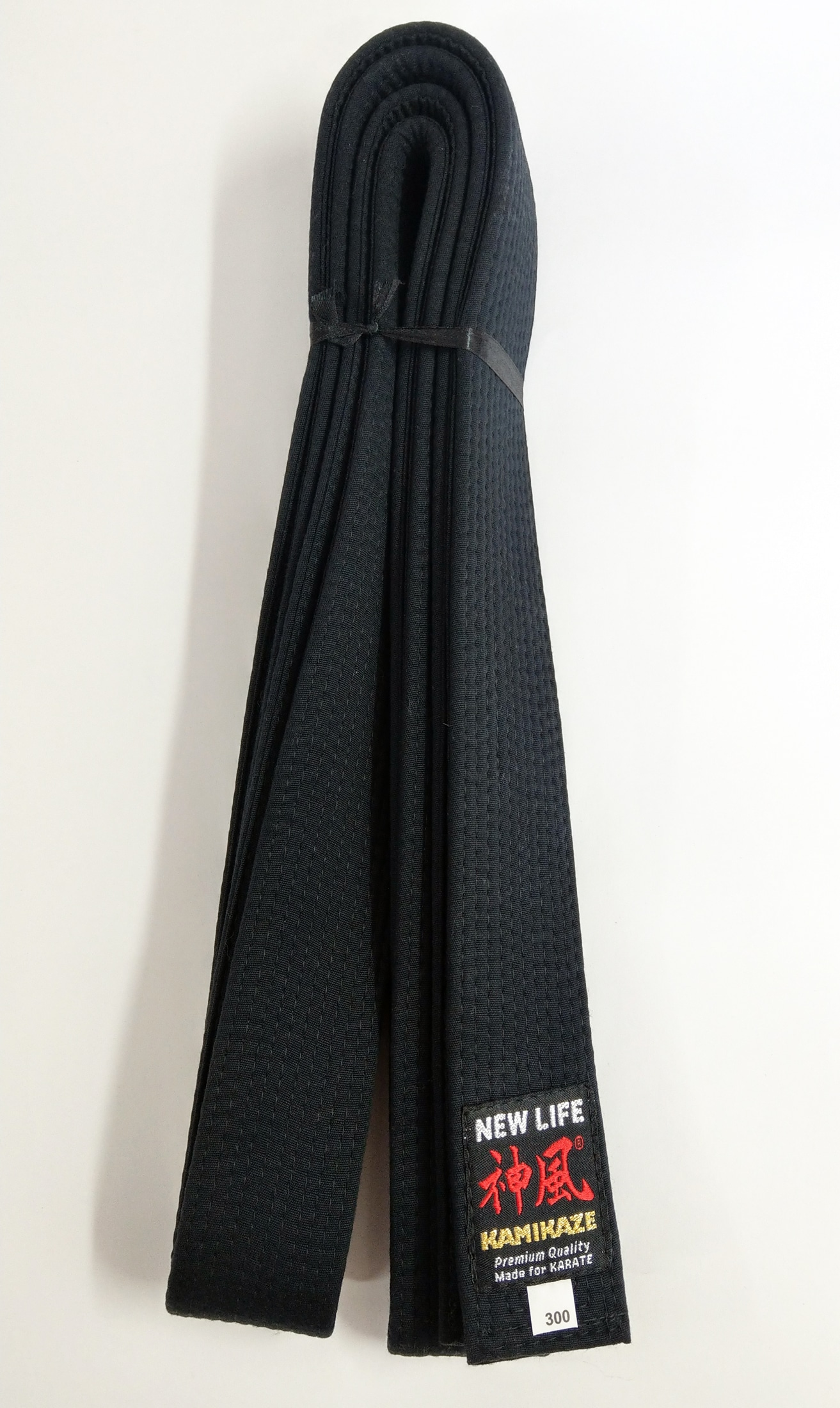 Ceinture Noire de Karate KAMIKAZE coton EXTRA LARGE - Qualité ... e600feca767