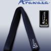 ceinture-noire-de-karate-arawaza-soie-naturelle
