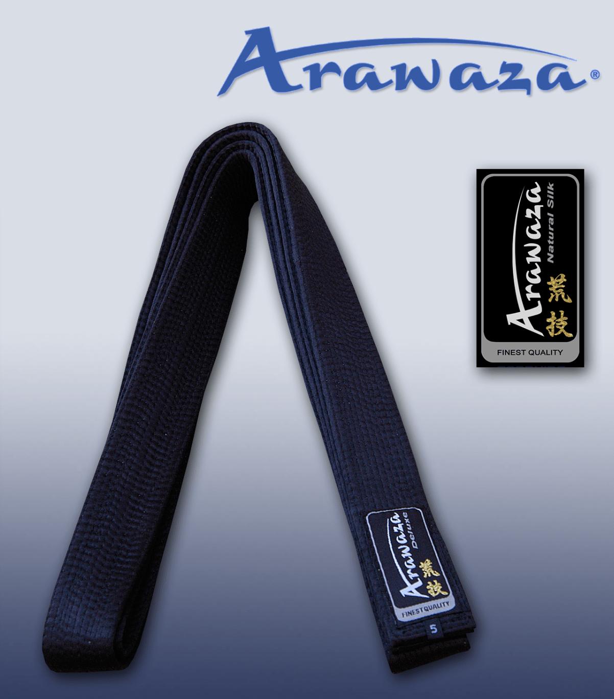 dd37dce7d417 Ceinture noire de Karate ARAWAZA en Soie Naturelle   En vente sur ...
