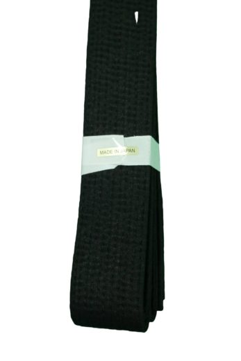 ceinture-noire-de-karate-tokaido-coton-fabriquee-au-japon-arriere