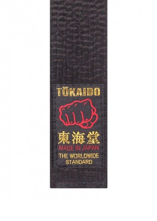 Ceinture noire de Karate - Tokaido - Fabriquée au Japon - Satin ... 3d43ffdb61b