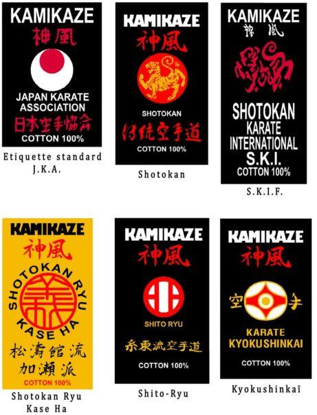 ceinture-noire-kamikaze-satin-ou-coton-etiquettes-style-karate