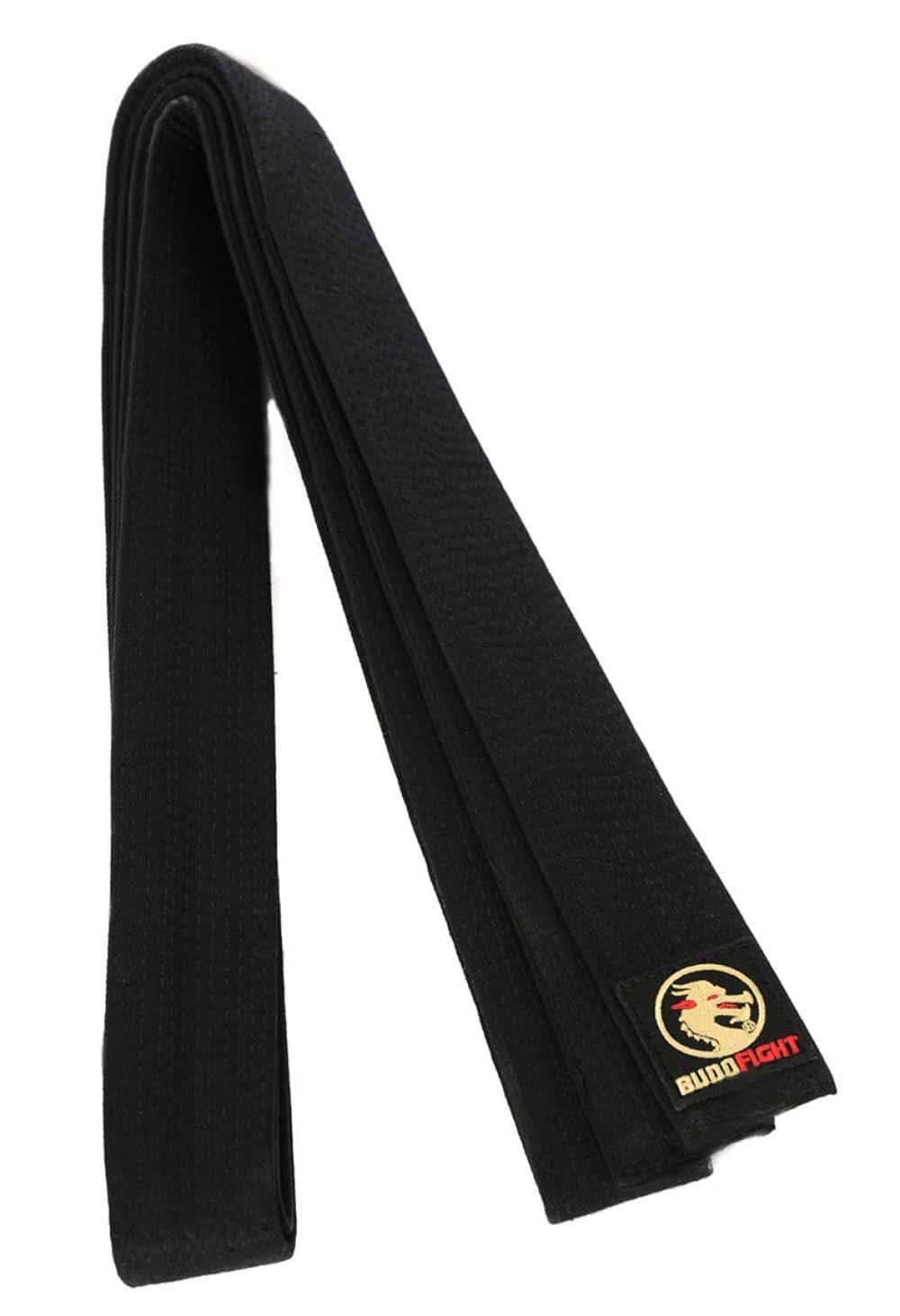 2d8d3bbceb1f Ceinture noire de Karate BUDO-FIGHT Coton piqué   En vente sur Karate-gi