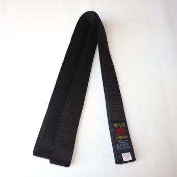 ceinture-noire-karate-shureido-satin