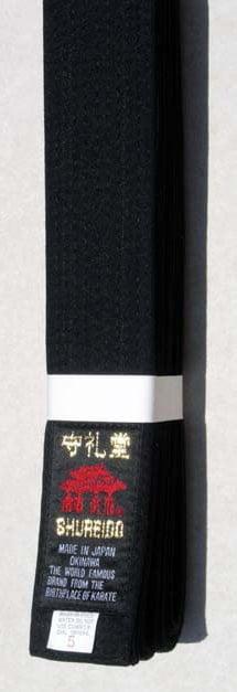 ceinture-noire-karate-shureido-zoom-coton