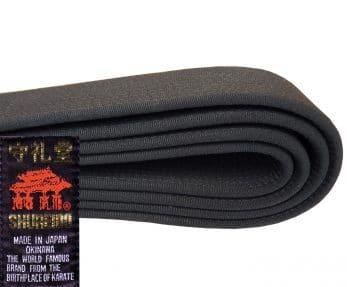ceinture-noire-shureido-extra-large-coton-satin-cote