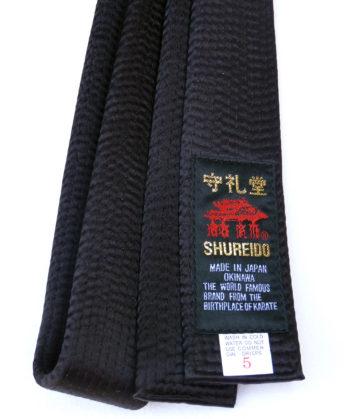 ceinture-noire-shureido-extra-large-coton-satin-etiquette
