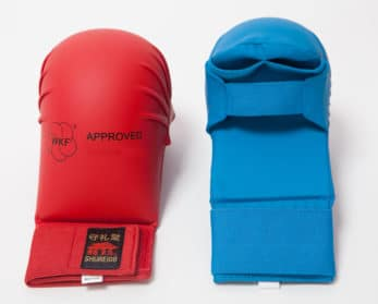gant-mitaine-shureido-rouge-bleu-wkf-2-faces