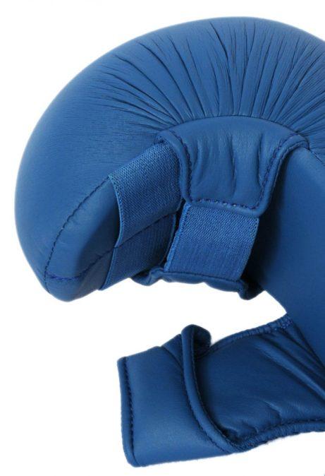 gants-karate-bleu-avec-pouce-budo-fight-homologues-ffk-zoom-profil