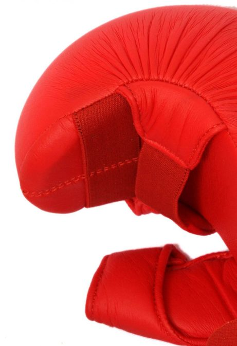 gants-karate-rouge-avec-pouce-budo-fight-homologues-ffk-zoom-profil
