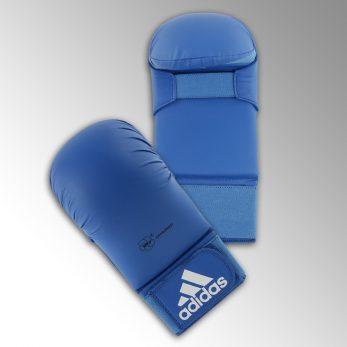 gants-mitaines-karate-wkf-adidas-bleu
