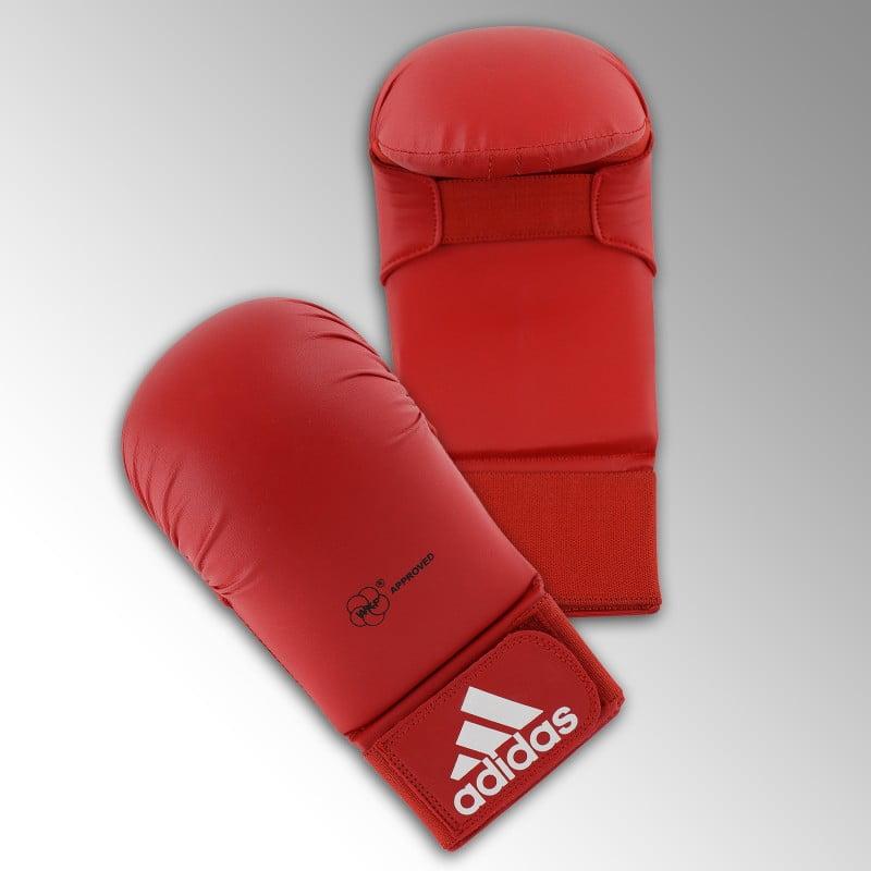 Gants de Karate Adidas bleu ou rouge WKF