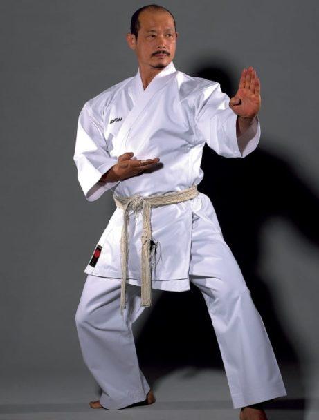 karate-gi-premium-line-13oz-kwon-maitre-japonnais-shuto-uchi-kokutsu-dachi