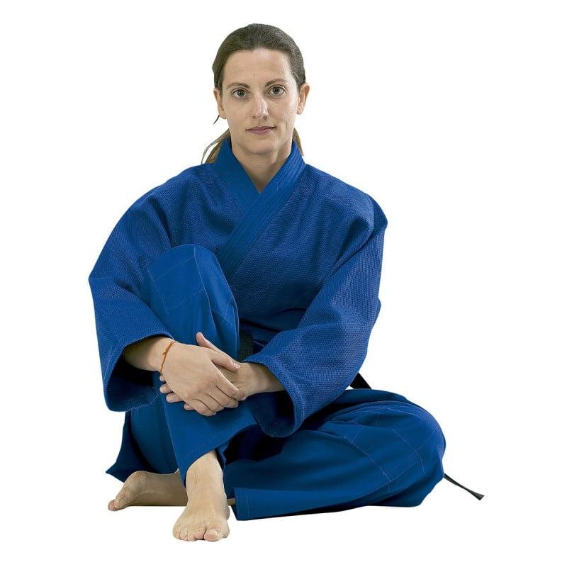 kimono-judo-entrainement-bleu-fuji-mae
