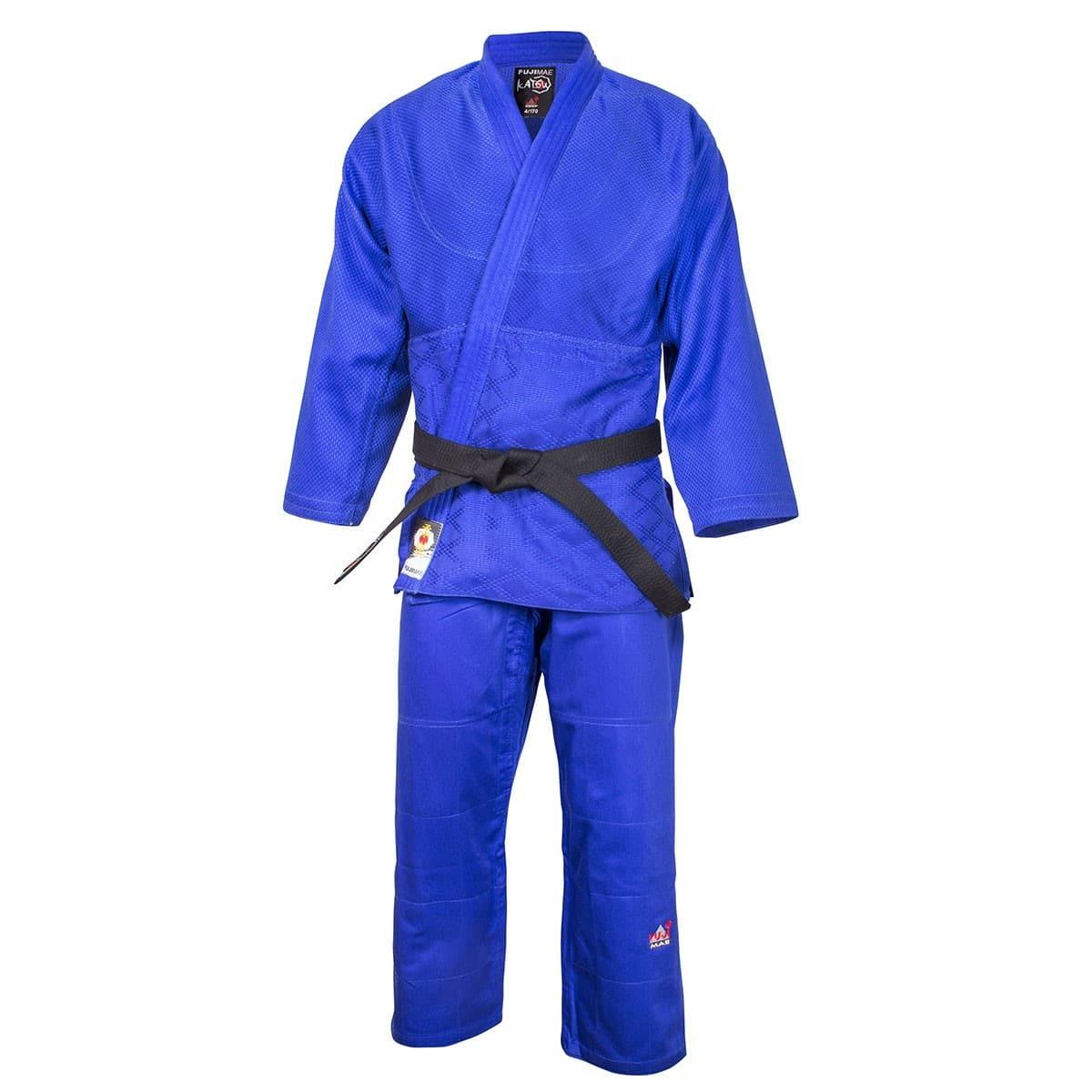 kimono-judo-katsu-bleu-fuji-mae
