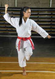 kimono-karate-gi-1er-kata-kamikaze-gangaku-kamae