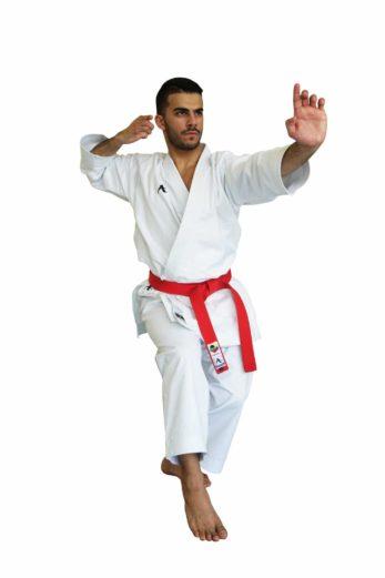 kimono-karate-gi-arawaza-black-diamond-neko-ashi-dashi-kamae