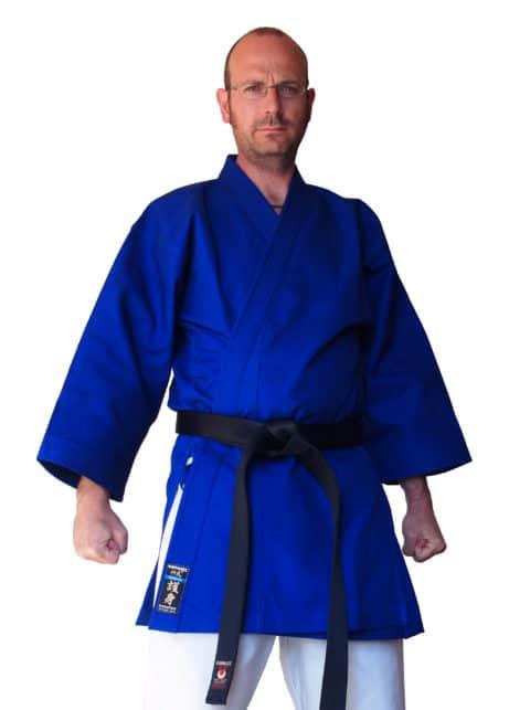 kimono-karate-gi-kamikaze-goshin-veste-bleue