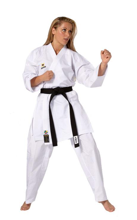 kimono-karate-kwon-kousoku-polyester-wkf-approved
