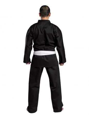 kimono-karate-traditional-8oz-noir-dos