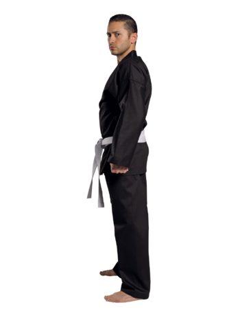kimono-karate-traditional-8oz-noir-profil