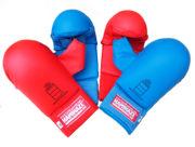 mitaine-gant-protection-karate-avec-pouce-rouge-bleu-kamikaze
