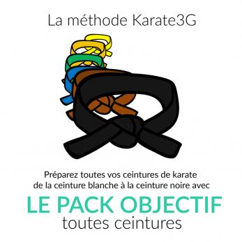 pack-objectif-karate3g-ceinture-blanche-a-noire-cours-de-karate-en-video