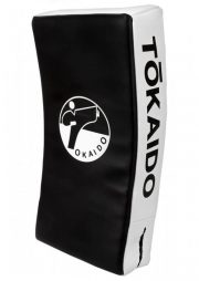 pao-de-boxe-incurve-kick-shield-pro-tokaido-noir-et-blanc