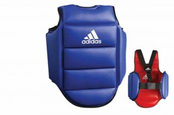 plastron-de-karate-reversible-adidas-adip01-rouge-bleu