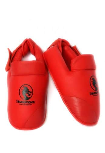 protege-pied-detachable-pu-budo-fight-rouge