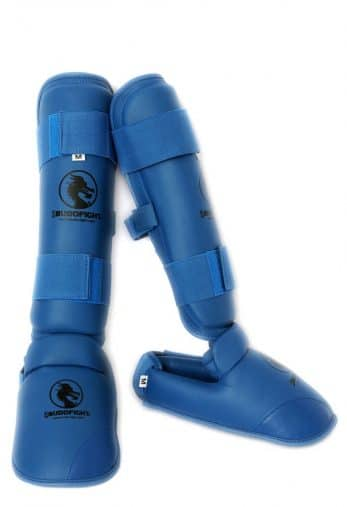 protege-pied-et-tibia-detachable-pu-budo-fight-bleu