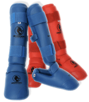 protege-pied-et-tibia-detachable-pu-budo-fight-rouge-ou-bleu
