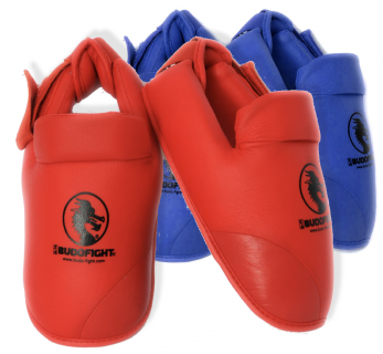 protege-pied-karate-detachable-pu-budo-fight-bleu-ou-rouge