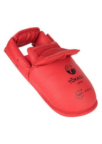 protege-pied-karate-tokaido-wkf-rouge-02