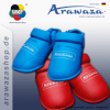 proteges-pieds-de-karate-arawaza-wkf-bleu-ou-rouge