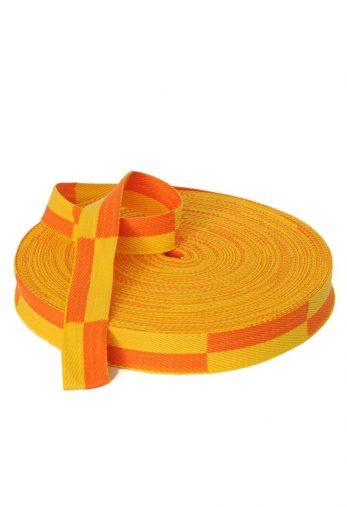 rouleau-ceinture-karate-jaune-orange-karate-gi