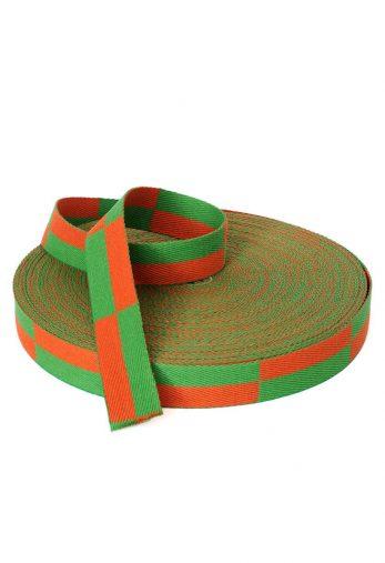 rouleau-ceinture-karate-orange-verte-karate-gi